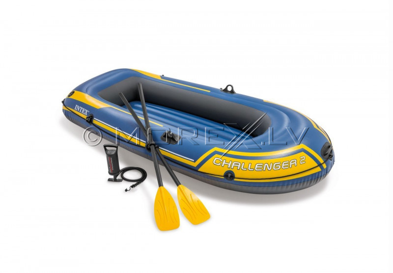 Inflatable boat Intex Challenger 2 Boat Set (236x114x41)