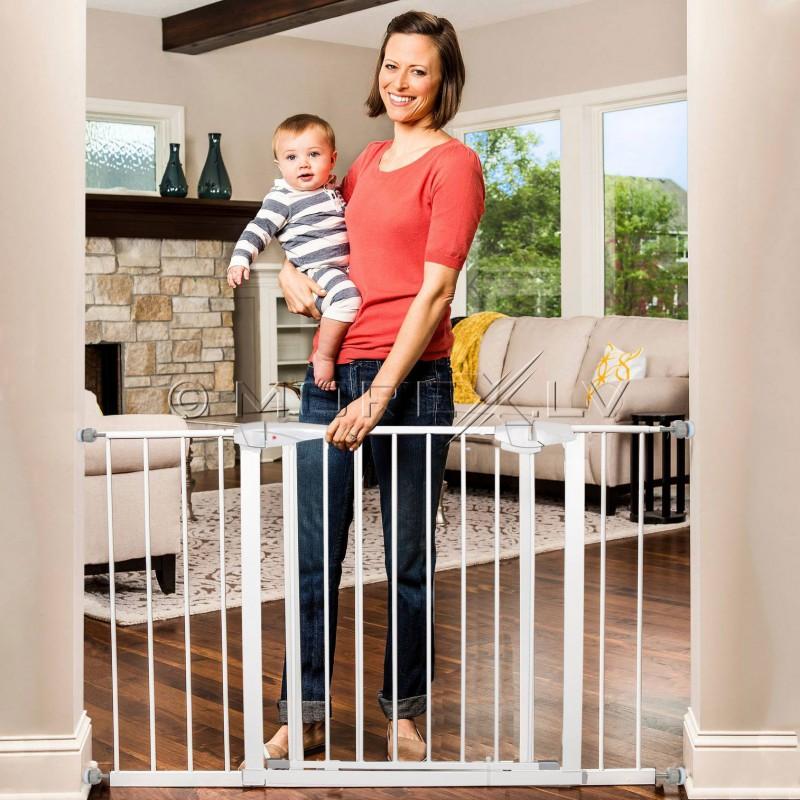 Bērnu drošības vārti 75-90 cm (SG001-SG001C)