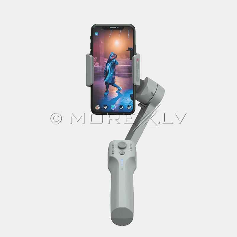 Viedtālruņu stabilizators Bluetooth MOZA Mini MX (selfiju statīvs)