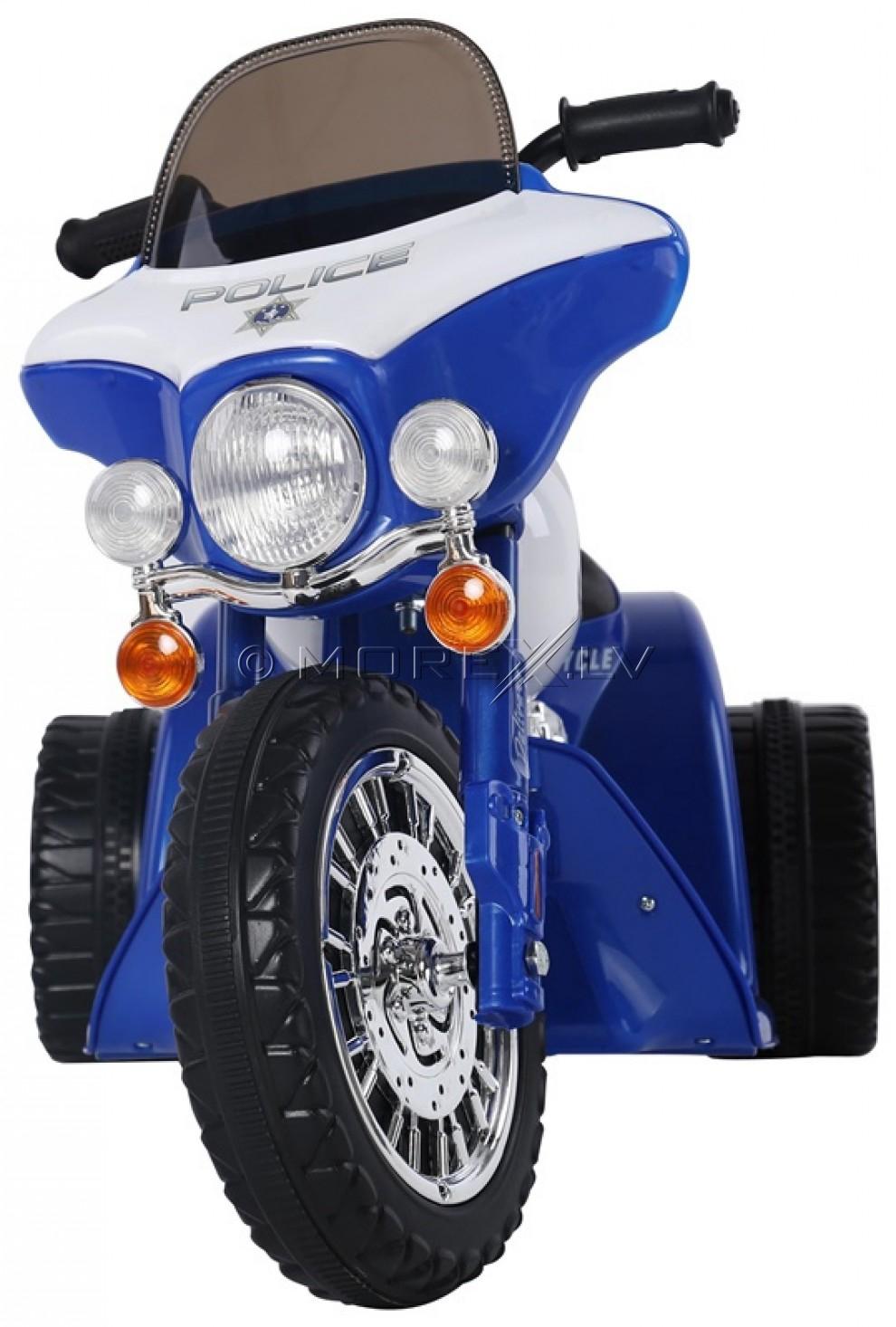 Bērnu motocikls Policija