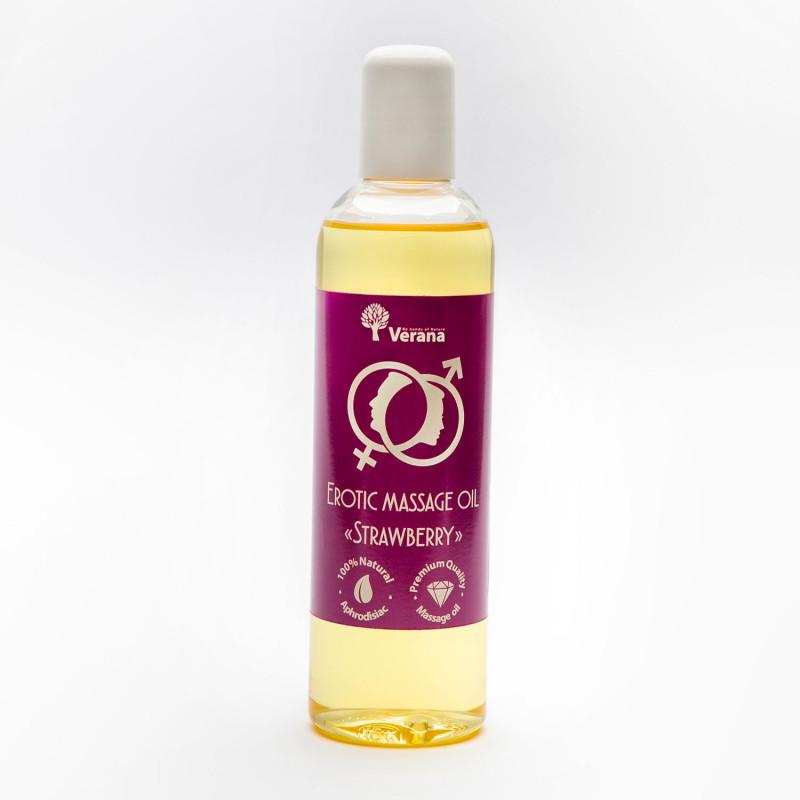 Эротическое массажное масло Verana, Клубника 250 мл