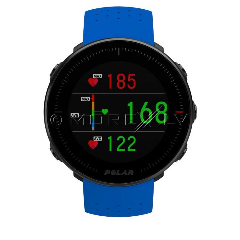 Sporta pulksteņis POLAR VANTAGE V BLUE ar H10 pulsu jostu