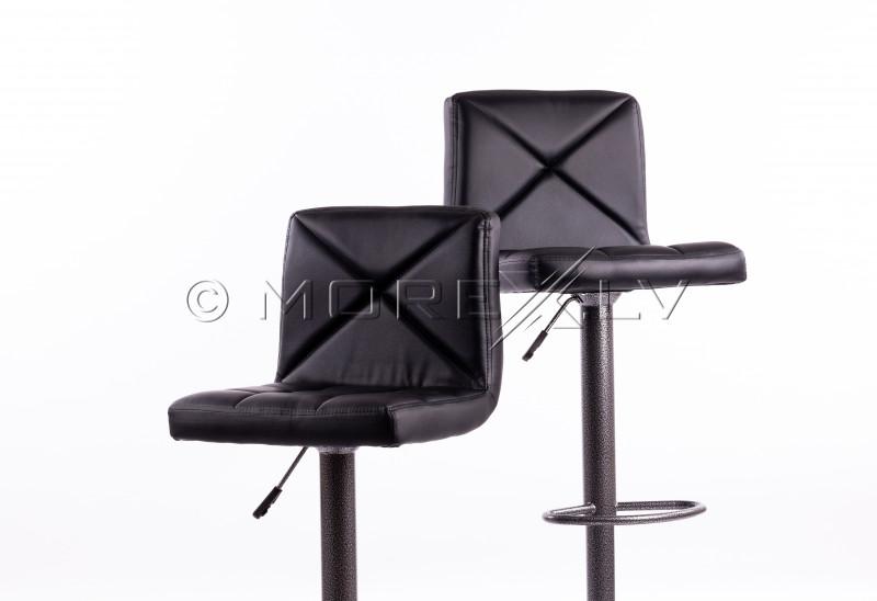 Melni bāra krēsli B06-1 - 2 gb.