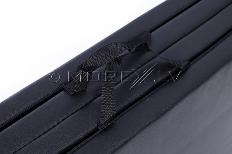 Saliekams sporta paklājs 122x244cm, melns