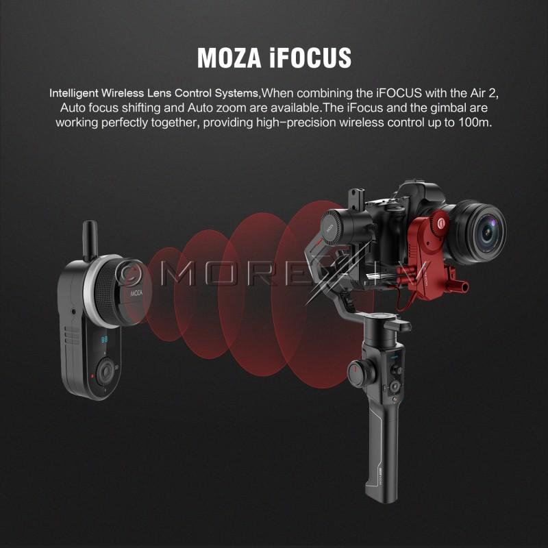 MOZA iFocus objektīva vadības sistēma (motors + tālvadības pults)