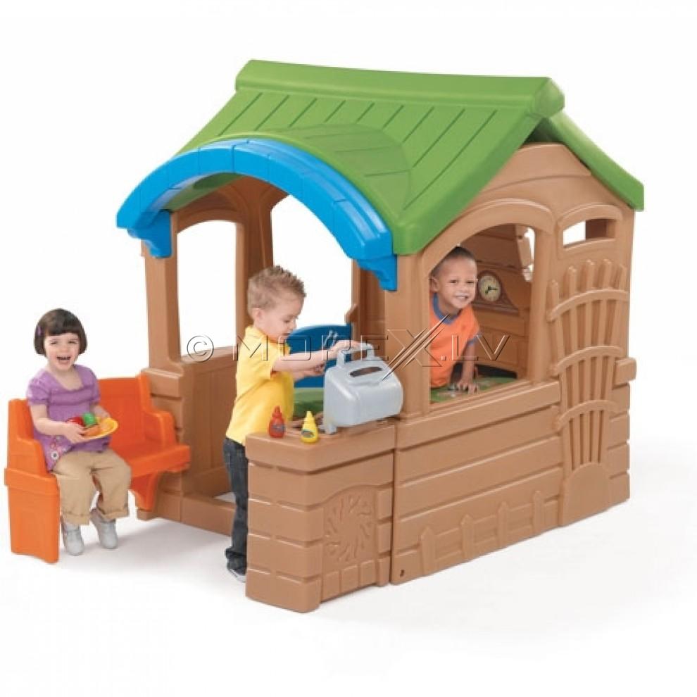Step2 Rotaļu namiņš ar grilu (800100)