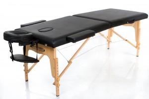 Noma RESTPRO® Classic-2 Black masāžas galds (kušete)