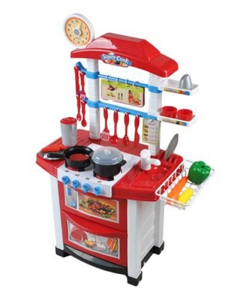 "Toy Kitchen with Dishes and Food ""Little Householder"""