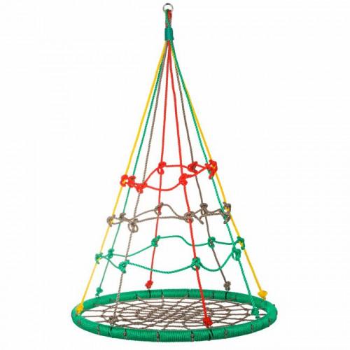 Детские качели - гнездо многоцветные 100 см (NS010)