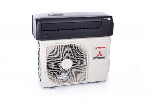 Gaisa kondicionieris (siltumsūknis) Mitsubishi SRK/SRC25ZS-WT Premium (titanium) Nordic series