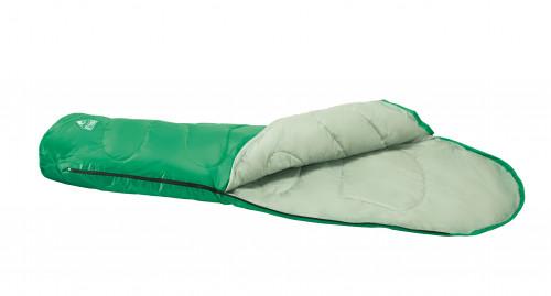 Спальный мешок Comfort Quest 200, 220x75x50 сm, Зеленый 68054
