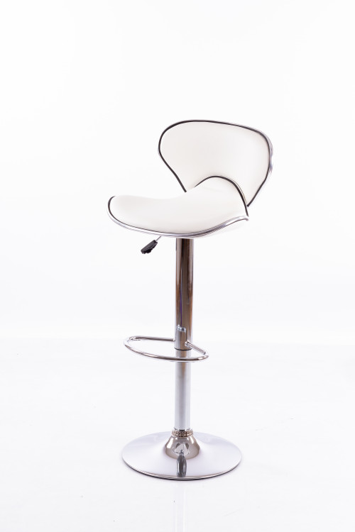 Balts bāra krēsls B03