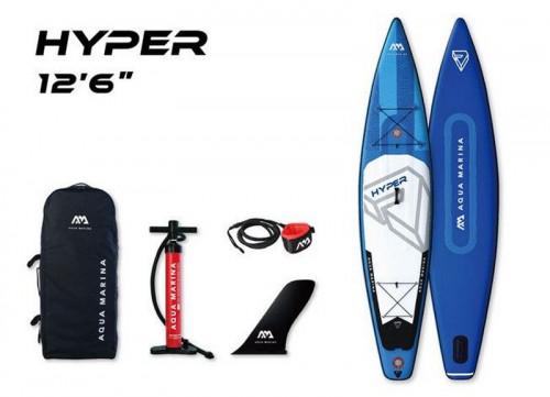 SUP доска Aqua Marina Hyper 12'6″, 381x81x15 см