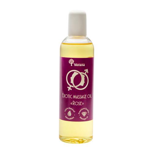 Erotiskā masāžas eļļa Verana, Roze 250 ml