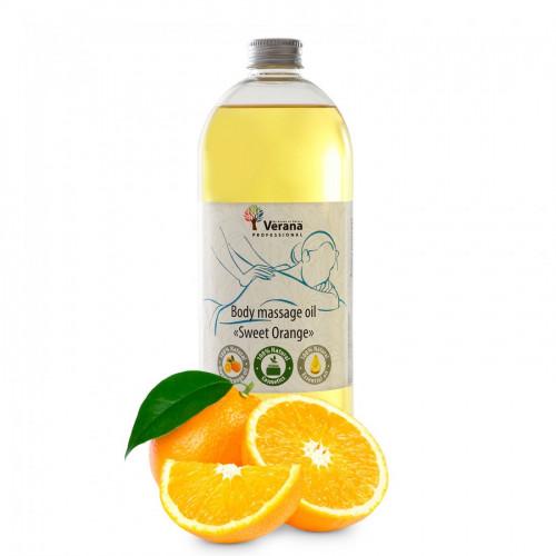 Masāžas eļļa ķermenim Verana Professional, Saldais apelsīns 1 litrs