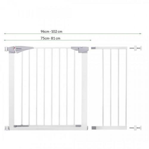 Bērnu drošības vārti 75-138 cm (SG004-2X-SG004C)