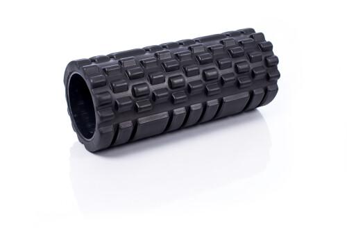 Ролик массажный для йоги  Grid Roller 30x10cm, чёрный