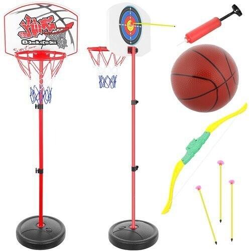 Basketbola pārvietojamais komplekts bērniem, 11466 (0.73 - 1.46m)