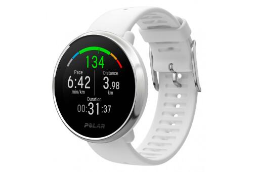 Спортивные часы POLAR IGNITE WHITE-SILVER, M/L