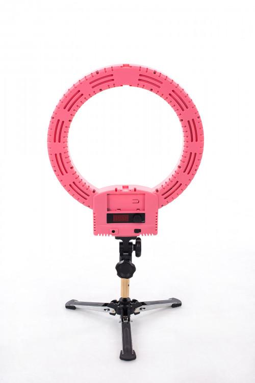 Кольцевая ЛЕД лампа для фото и видео съемок Ø33 см, 36W (9601LED-12)
