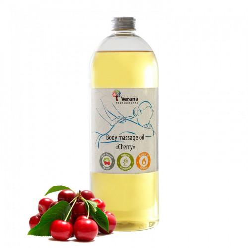 Ķermeņa masāžas eļļa Professional, Ķirsis 1 litrs
