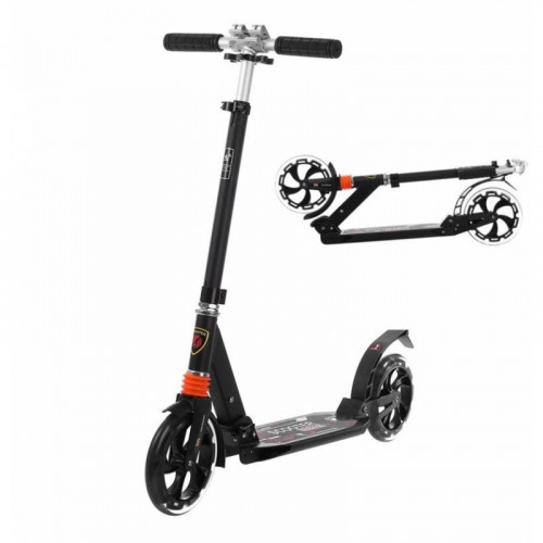 Scooter for kids and adults, with dampers