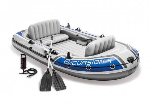 Piepūšamā laiva Intex EXCURSION 4 BOAT SET, 315х165х43 (68324)