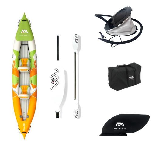 Two-seat inflatable kayak Aqua Marina Betta 412x80 cm (BE-412)