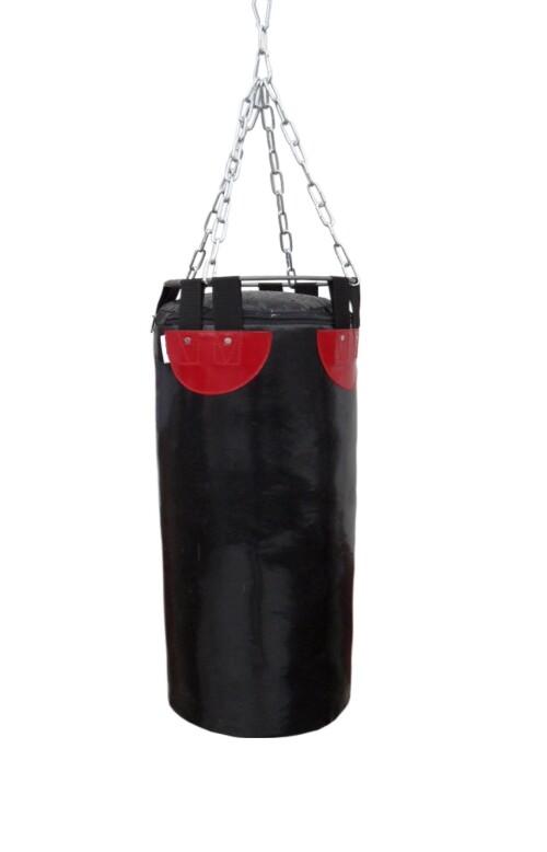 Boksa maiss SANRO 90/28 cm, 21 kg melns