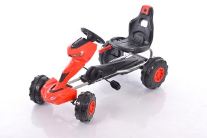 Velokart (Velomobile) Go-Kart 1501 Red (3-6 years)