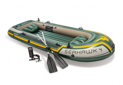 Надувная лодка Intex SEAHAWK 4 (351х145х48)