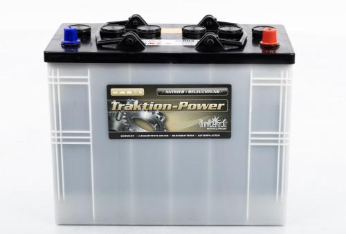 Силовой лодочный аккумулятор Intact Traktion-Power 125AH (c20)