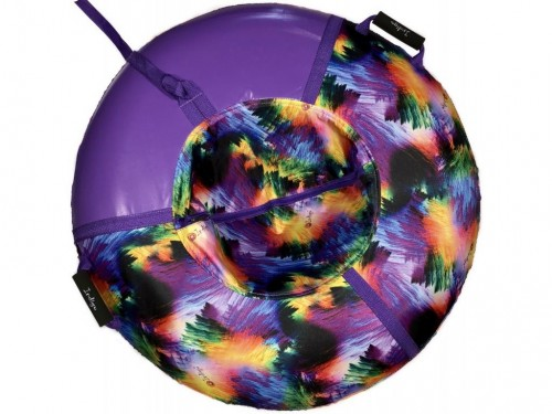 """Inflatable Sled Snow Tube """"The Northern Light"""" (00379-95-Purple)"""
