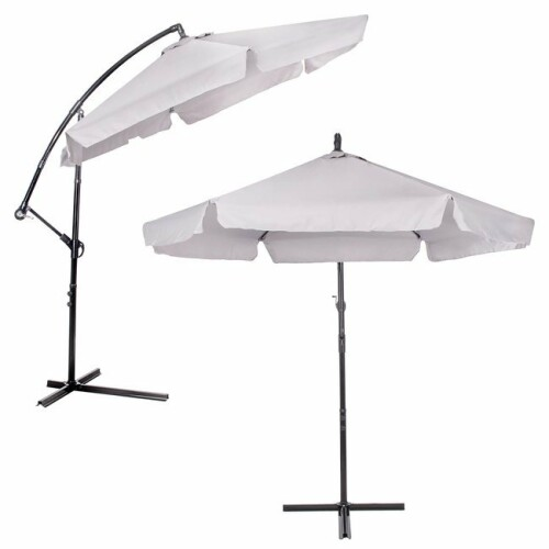 Sun protection umbrella on a stand, 350 cm