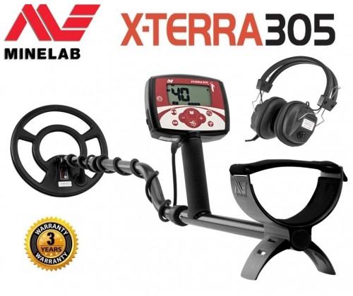 Minelab X-Terra 305 + DĀVANA (3704-0110)
