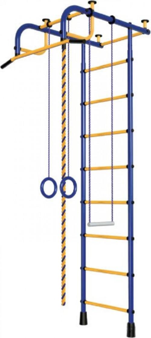 Bērnu zviedru siena Pioner-1 zili-dzeltens (zviedru siena)