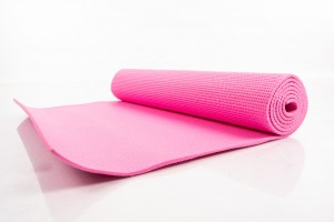 Yoga pilates exercise sport mat 173х61х0.5 сm pink