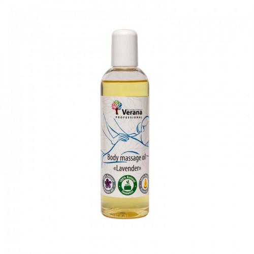 Masāžas eļļa ķermenim Verana Professional, Lavanda 250ml