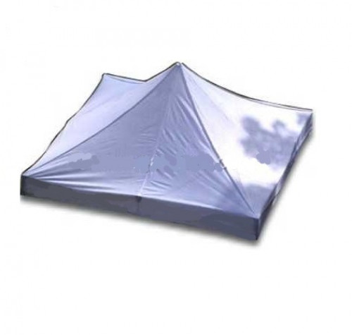 Canopy roof cover 2.92 x 2.92 m (white colour, fabric density 160 g/m2)