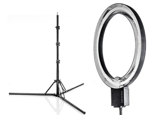 RING Lamp NG-40C 40W + Light Stand 2,2m ringflash (foto_03995)