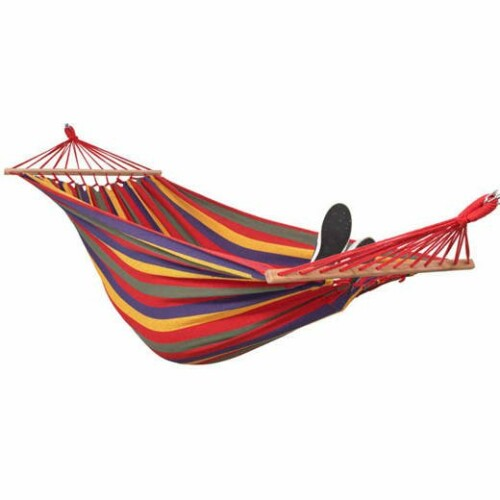 Hammock-garden swing 200x150 cm, multicolored