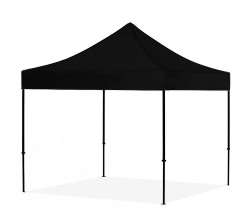 Pop Up Saliekamā nojume bez sienām 3x3 m, Melns X sērija, alumīnijs (tents, paviljons, telts)