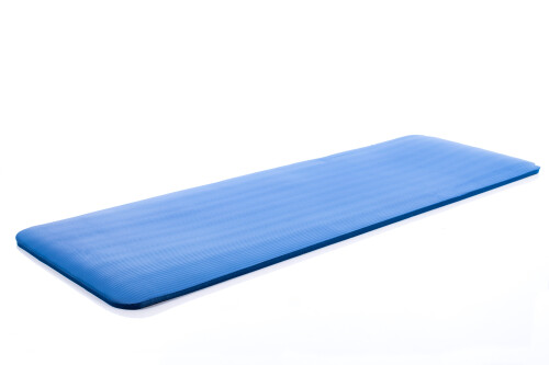 Спортивный коврик для йоги пилатеса аэробики 179х1,5х60 см, синий