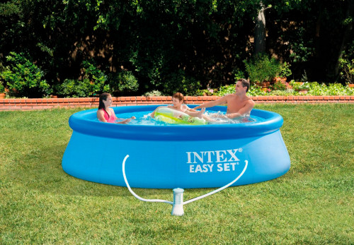 Baseins Intex Easy Set Pool 305х76 cm, ar filtra sūkni (28122)