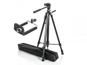 Camera stand Tripod 3D 167 cm with phone holder and case, ST-560 (foto_04102)