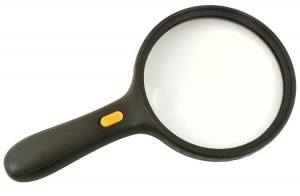 Magnifying glass with illumination (00006204)