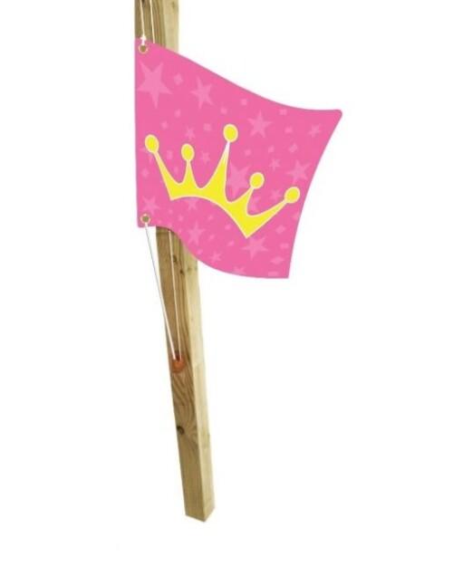 Kids flag Princess (hoisting system) КВТ, 55x45 cm