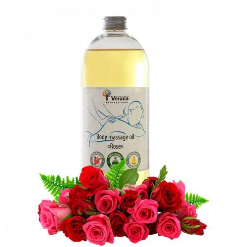 Masāžas eļļa ķermenim Verana Professional, Roze 1 litrs