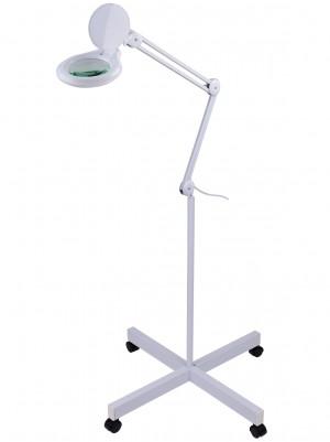 Лампа-лупа для косметолога, мастера по педикюру 9003LED3D-FS