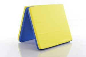 Safety mat 66x120cm blue-yellow